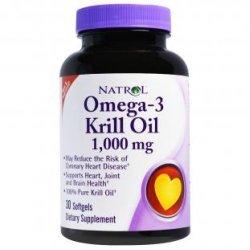 Natrol Omega-3 Krill Oil 1000 мг 30 дражета