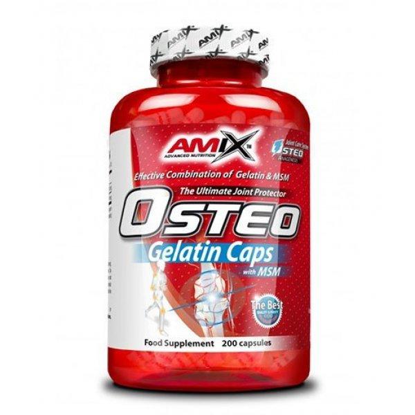 AMIX Osteo Gelatin with MSM 200 капсули AM248