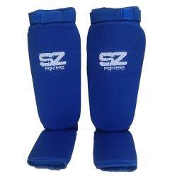 Протектори за крака за бойни спортове Blue SZ Fighters