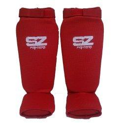 Протектори за крака за бойни спортове Red SZ Fighters