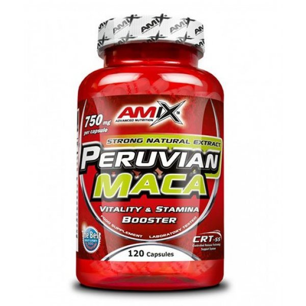AMIX Peruvian Maca 750 мг 120 капсули AM254