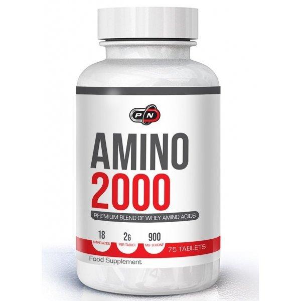 Pure Amino 2000 + Leucine 75 таблеткиPN6729