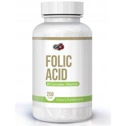 Pure Folic Acid 800 мкг + B-12 25 мкг 250 таблетки