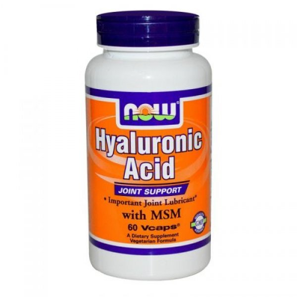 NOW Hyaluronic Acid with MSM 60 капсулиNOW3156