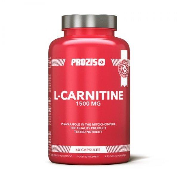 Prozis Foods L-Carnitine 1500 mg 60 капсулиPRZ572