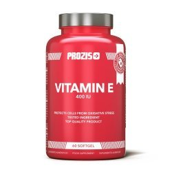 Prozis Foods Vitamin E 400 IU 60 гел-капсули