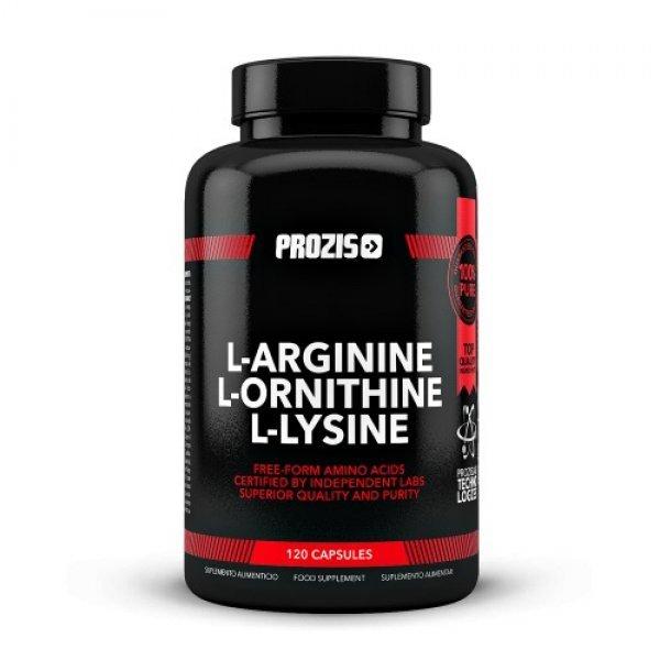 Prozis L-Arginine L-Ornithine L-Lysine 120 капсулиPRZ526