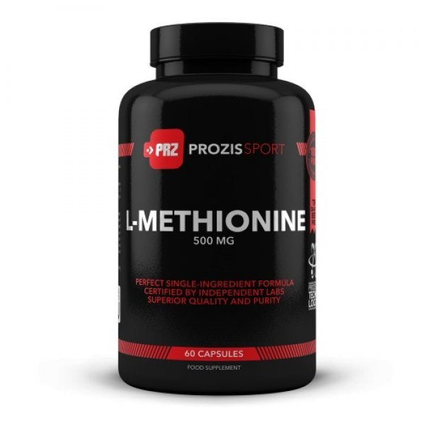 Prozis L-Methionine 500 мг 60 капсулиPRZ533