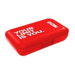 Prozis Pillbox Red - Your Limit Is You