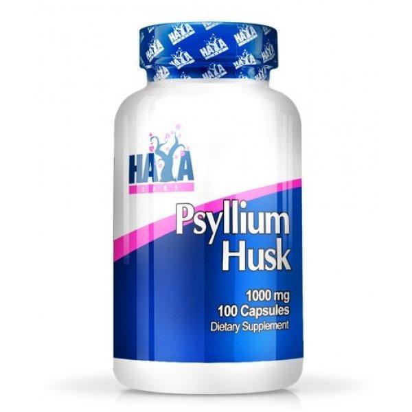 Haya Psyllium Husks 1000 мг 100 капсулиHaya Psyllium Husks 100 капсули