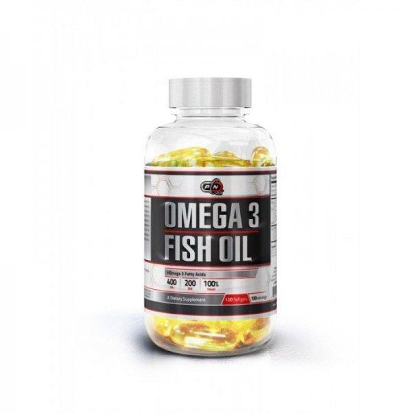 Pure Omega 3 Fish Oil 100 дражетаPN1756