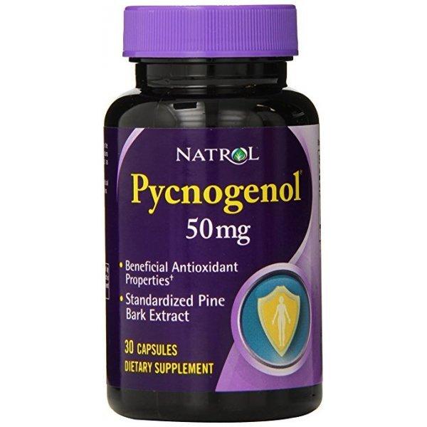 Natrol Pycnogenol 50 мг 30 капсулиNAT445