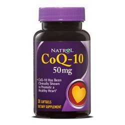 Natrol CoQ-10 50 мг 30 дражета