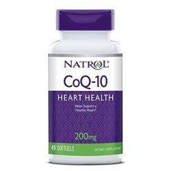 Natrol CoQ-10 200 мг 45 дражета