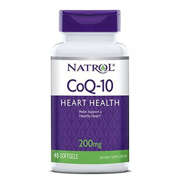 Natrol CoQ-10 200 мг 45 дражетаNAT300