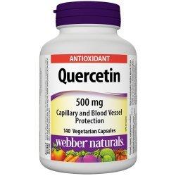 Webber Naturals Quercetin 500 мг 140 капсули