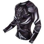 Рашгард с дълги ръкави Gladiator 3.0 Venum, Черен/БялVEN21843