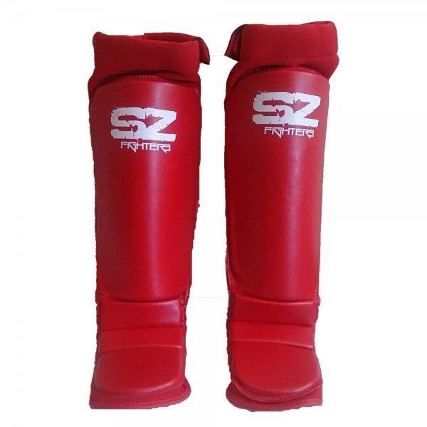 ММА Протектори за крака Red SZ FightersMMA Протектори Red SZ