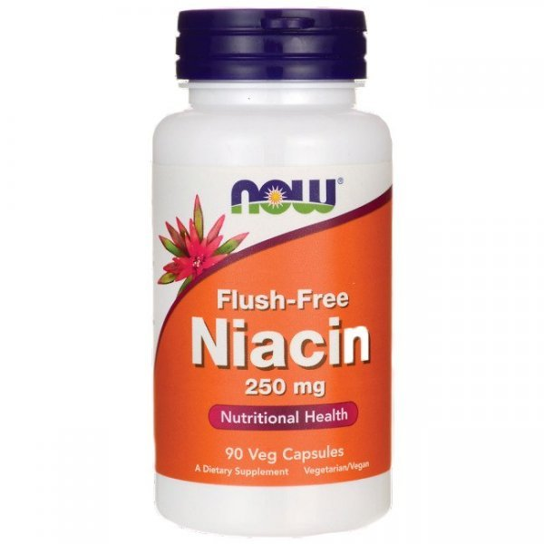 NOW Flush-Free Niacin 90 капсулиNOW483