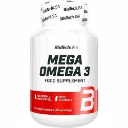 BIOTECH USA Mega Omega 3 1000 mg 90 капсули