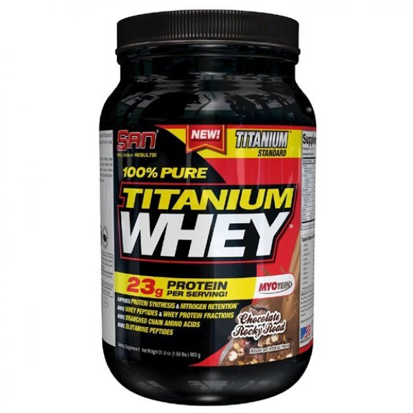 SAN 100% Pure Titaniium Whey 910 гр 100% Pure Platinum Whey  2lb