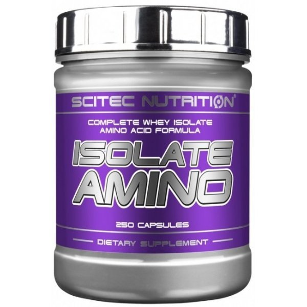 Scitec Isolate Amino 250 капсулиIsolate Amino 250 капсули