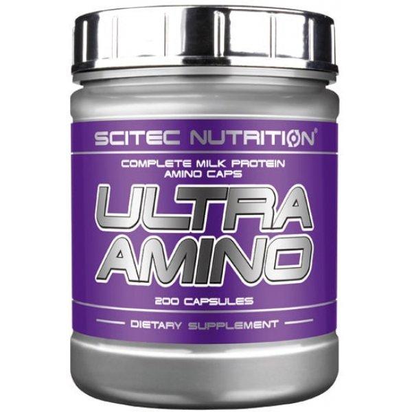 Scitec Ultra Amino 200 капсулиUltra Amino 200 капсули