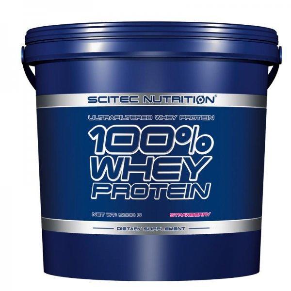 Scitec 100% Whey Protein 5000 гр100% Whey Protein 5000гр