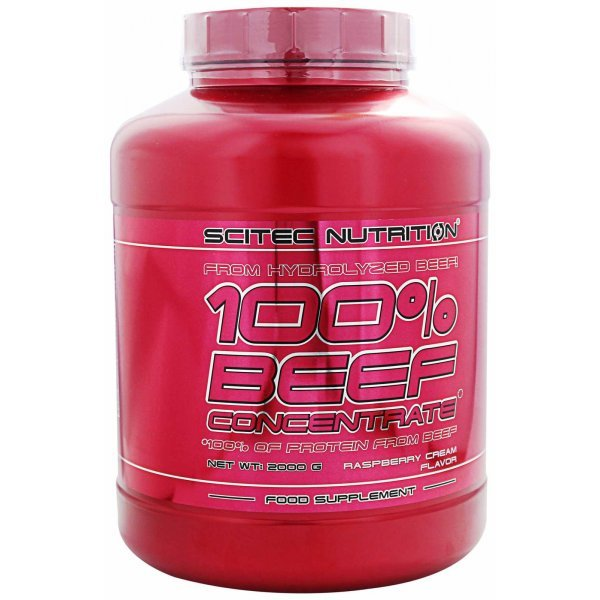 Scitec 100% Beef Concentrate Protein 2000 грScitec 100% Beef Protein 2000 гр