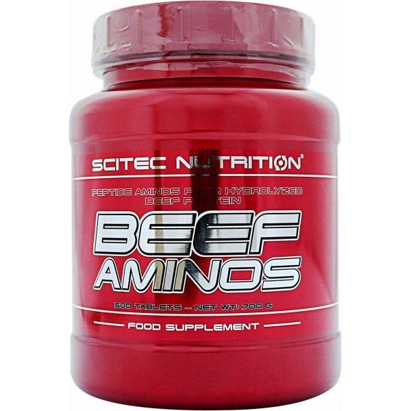 Scitec Beef Aminos 500 таблеткиScitec Beef Aminos 500 таблетки