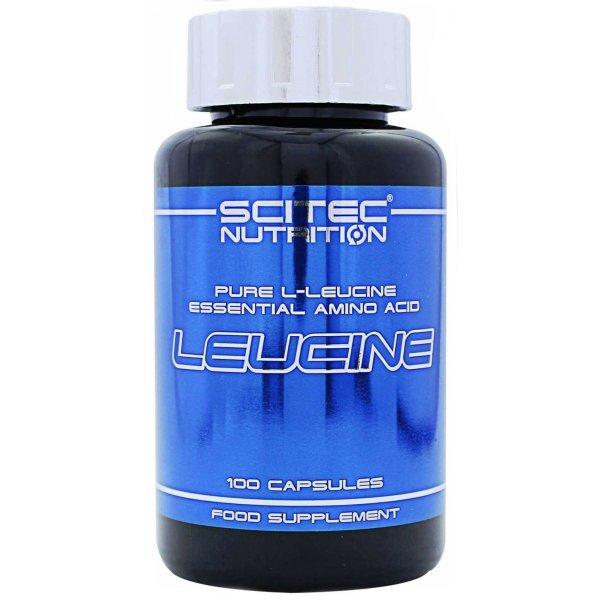 Scitec Leucine 100 капсулиScitec Leucine 100 капсули