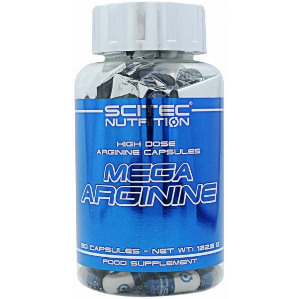 Scitec Mega Arginine 90 капсулиMega Arginine