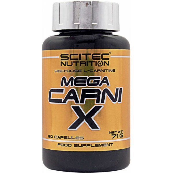 Scitec Mega Carni X 60 капсулиMega Carni X