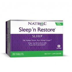 Natrol Sleep'N Restore 20 таблетки