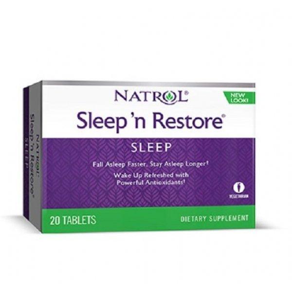 Natrol Sleep'N Restore 20 таблеткиNAT451