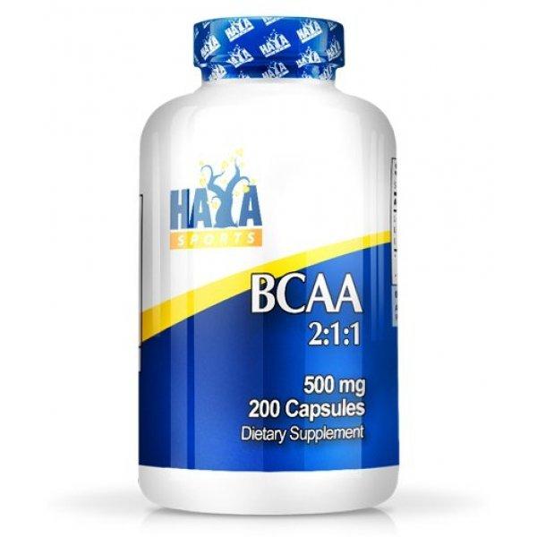 HAYA LABS Sports BCAA 2:1:1 200 капсули HL920