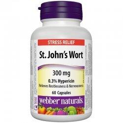Webber Naturals St. John's Wort 300 мг 60 капсули