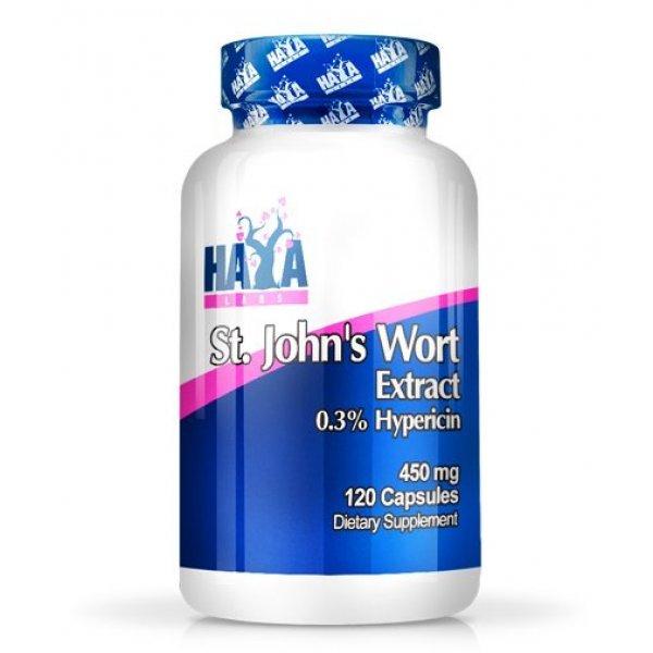 Haya St. John`s Wort 450 мг 120 таблеткиHaya Жълт Кантарион 450 мг 120 капсули