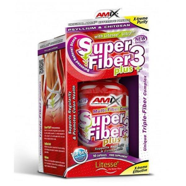AMIX Super Fiber 3 Plus 90 капсули  AM280