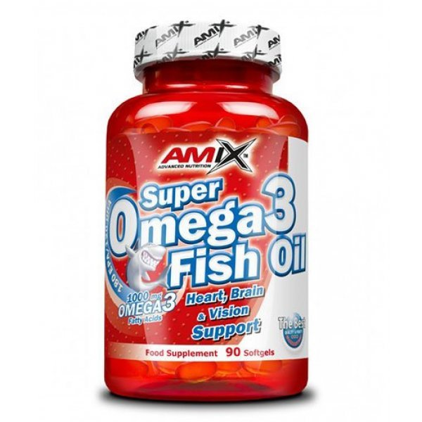 AMIX Super Omega 3 Fish Oil 90 капсулиAM281