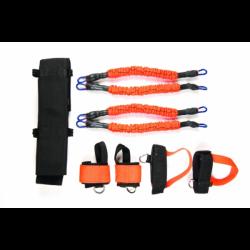 Боен колан с ластици за бокс и бойни спортове Fight Belt