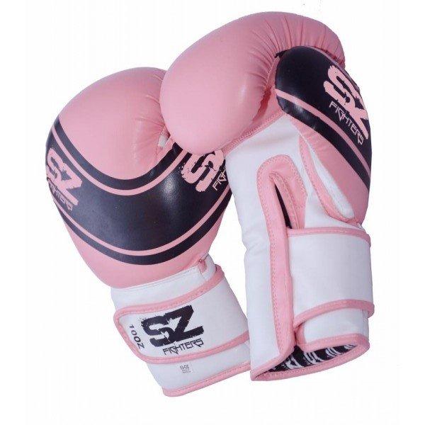 Боксови ръкавици Evo Champion розовиБоксови ръкавици Evo Champion розови ест. кожа