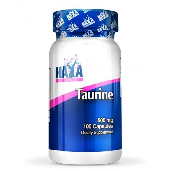 Haya Taurine 500 мг 100 капсулиHaya Taurine 500 мг 100 капсули