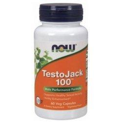 NOW Testo JACK 100 60 капсули