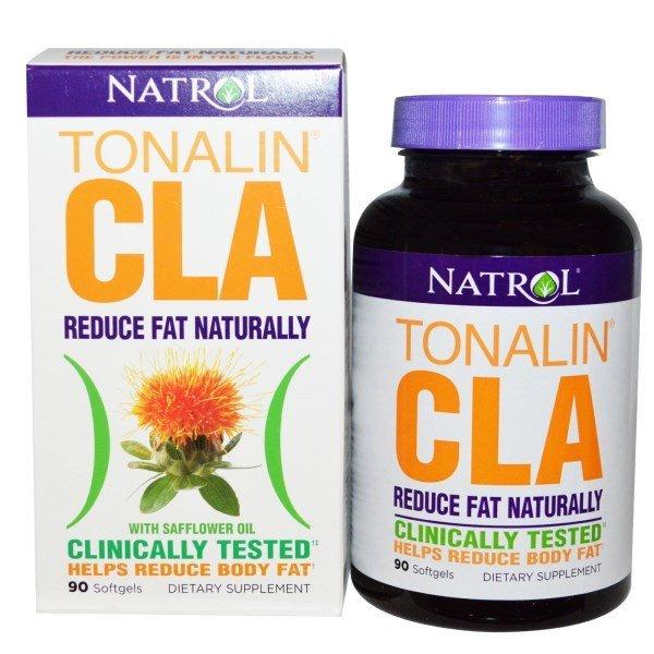 Natrol Tonalin CLA 1200 мг 90 дражетаNAT458