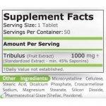 Pure Tribulus Terrestris 1000 мг 50 таблеткиPN17602
