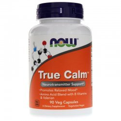 NOW True Calm Amino Relaxer 90 капсули