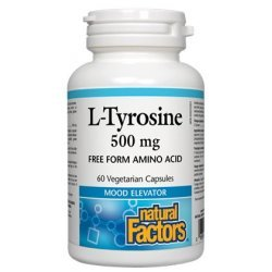 Natural Factors L-Tyrosine 500 мг 60 капсули