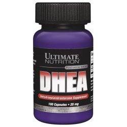 Ultimate Nutrition DHEA 25 мг 100 капсули