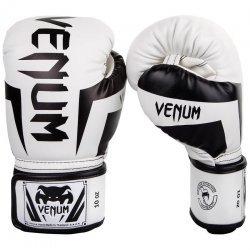 Боксови Ръкавици Elite Boxing Venum, Бял/Черен